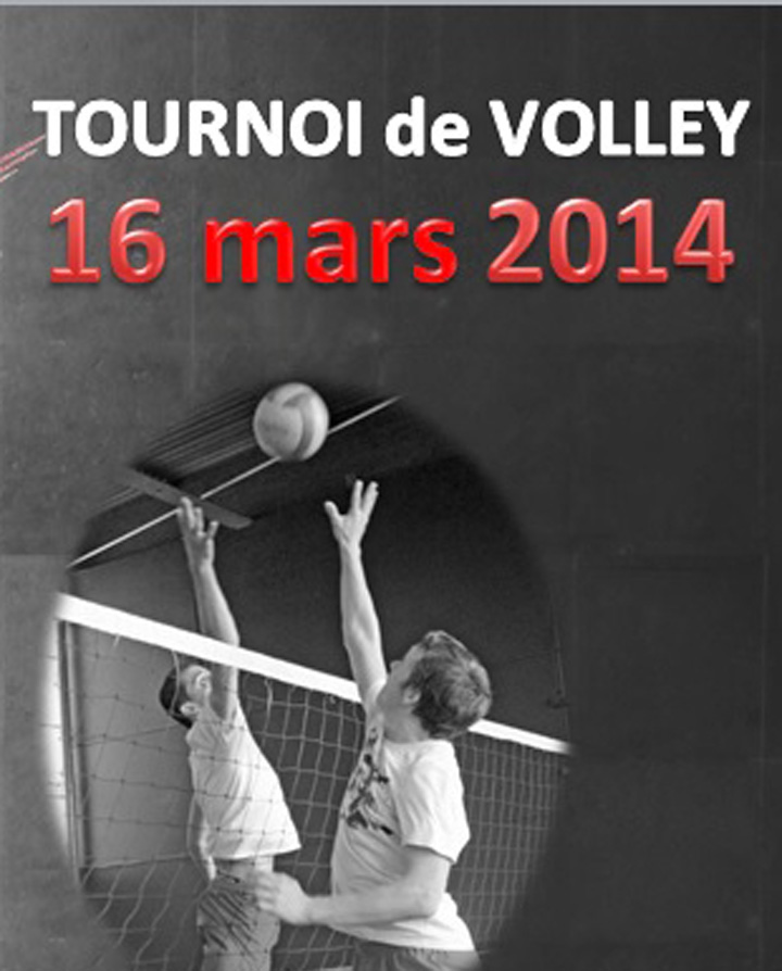 Volley : Tournoi du 16 mars
