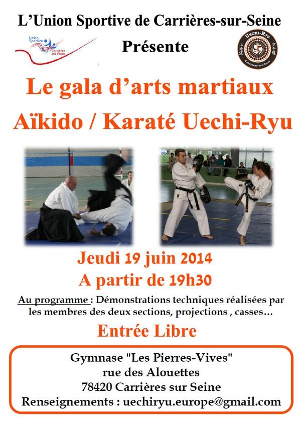 Aïkido & Karaté : Gala d'Arts Martiaux