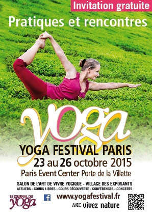 Yoga :  Festival Paris 2015